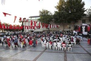 Kahramanları Beykoz'da 15 Temmuz'u anlattı