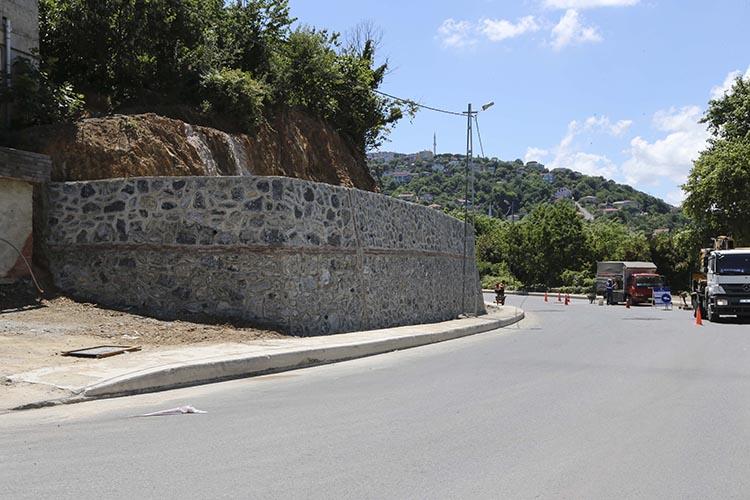 Beykoz Akbaba yolu artık daha güvenli