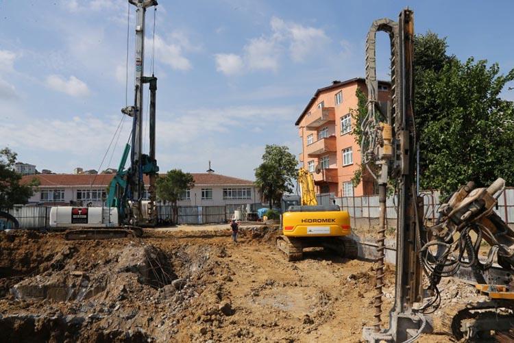Beykoz Soğuksu'da Gençlik Merkezi inşaatı başladı