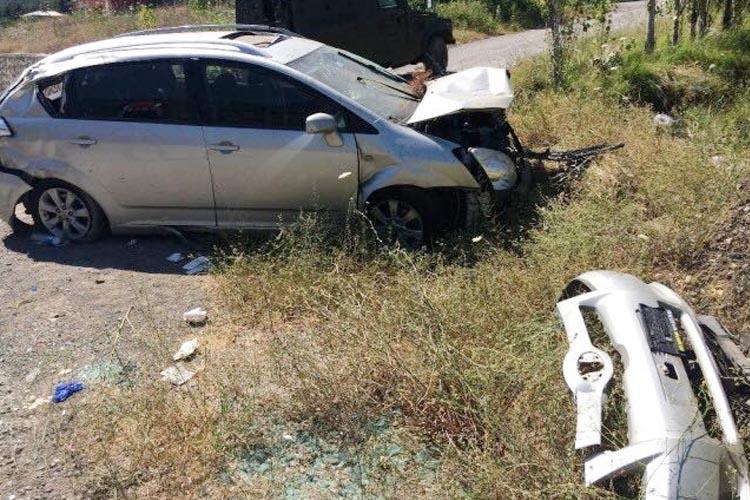Beykoz Ortaçeşme Muhtarı trafik kazası geçirdi