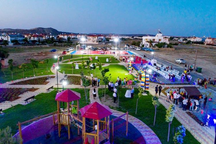 Mesudiye'de Beykoz Tepesi, Kıbrıs'ta Beykoz Parkı