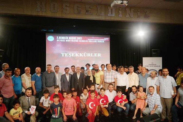 Beykoz'da gençlerin 15 Temmuz hassasiyeti