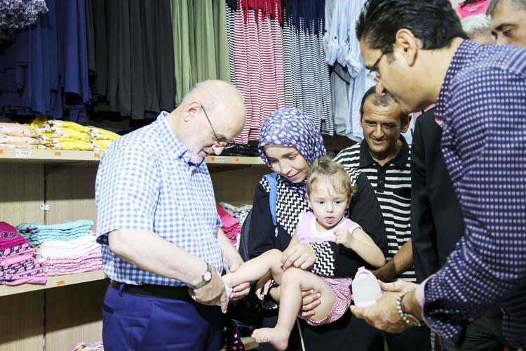 Beykoz'da, Şehit ve Gazi çocuklarına bayramlık sevinci