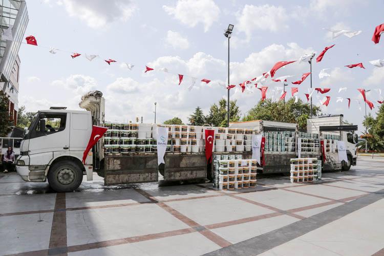 Beykoz'da 80 okula boya malzemesi