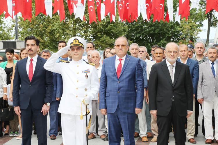 Beykoz'da 30 Ağustos resmi törenle kutlandı