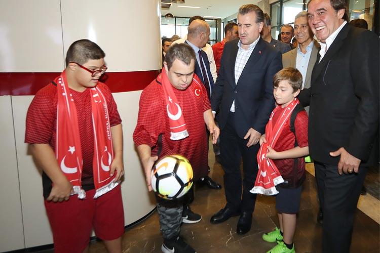 Türkiye'nin özel çocukları Beykoz'da ağırlandı