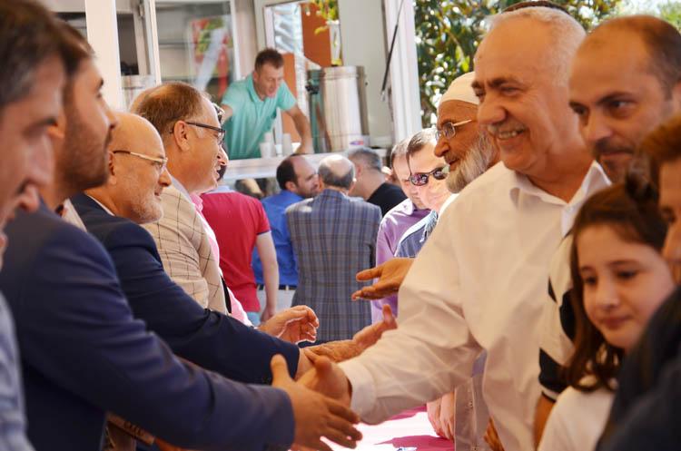 Beykoz'da Kurban bayramı kutlandı