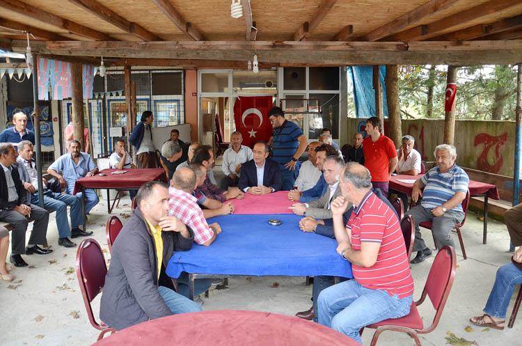 Hamzaçebi'den Beykoz'da bayram ziyareti