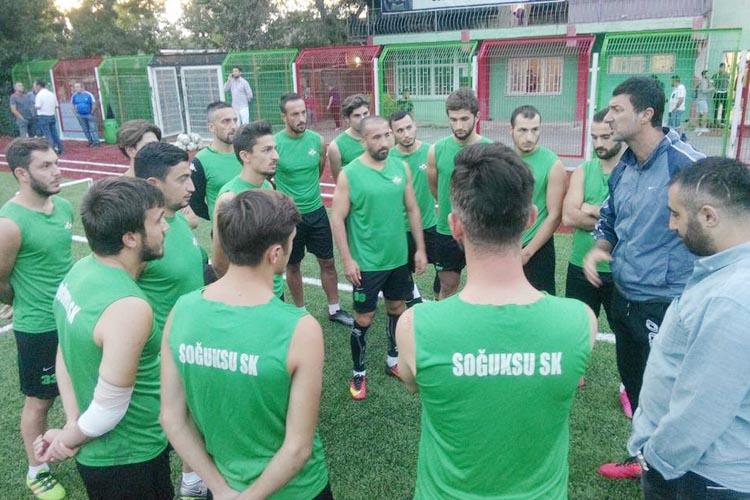 Soğuksuspor'da yeni teknik patron Gökhan Baladin