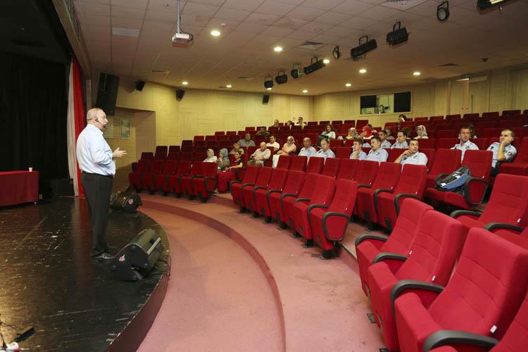 Beykoz Belediye personeline stres eğitimi