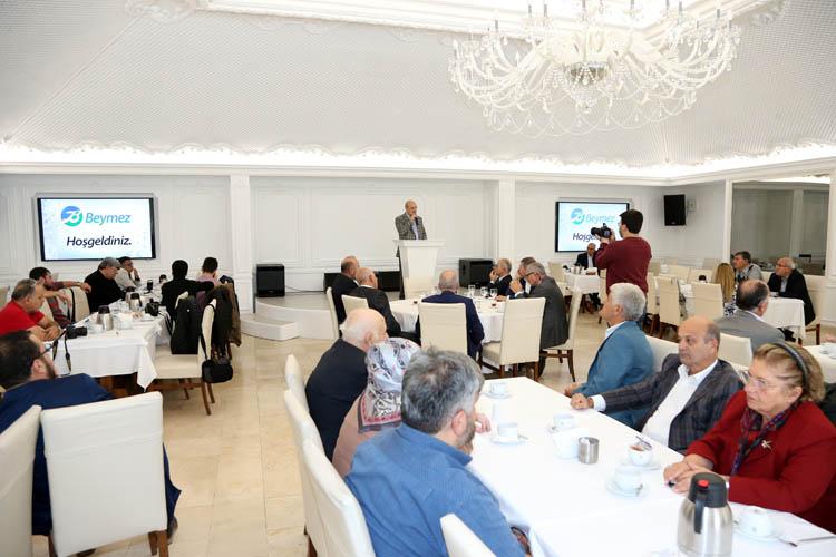 BEYMEZ toplantısına Erdoğan molası