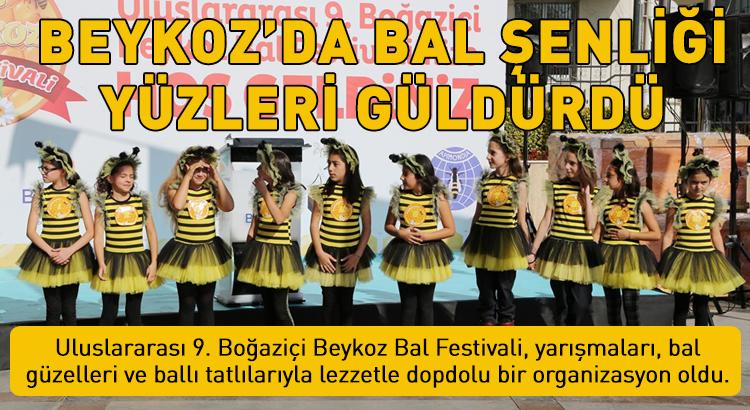 Uluslararası 9. Boğaziçi Beykoz Bal Festivali