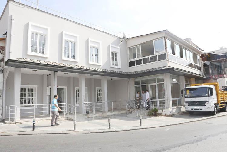 Beykoz Vakfı'nda yenileme tadilatı devam ediyor