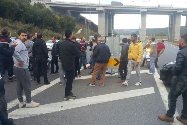 Beykoz Riva yolu ulaşıma kapatıldı
