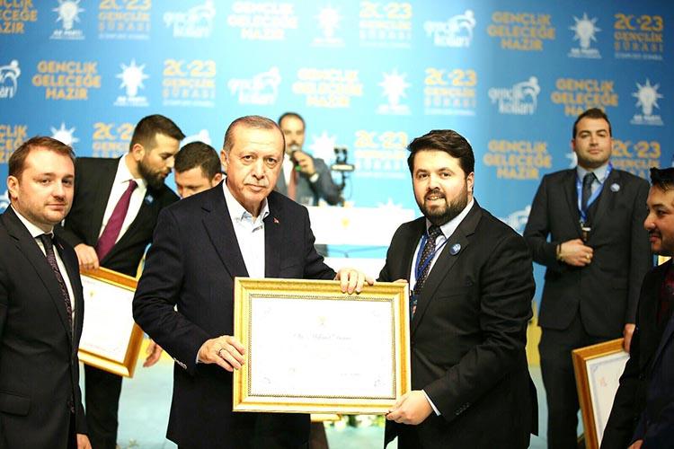 Erdoğan'dan Beykozlu o isme teşekkür