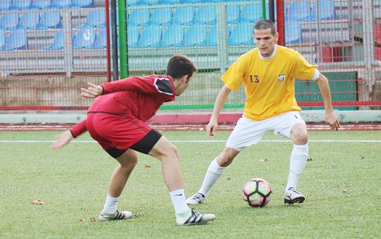 Beykoz'da lig maçı heyecanında dostluk maçı