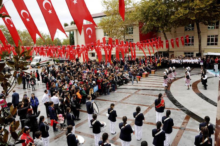 Beykoz'da 29 Ekim kutlamaları başladı