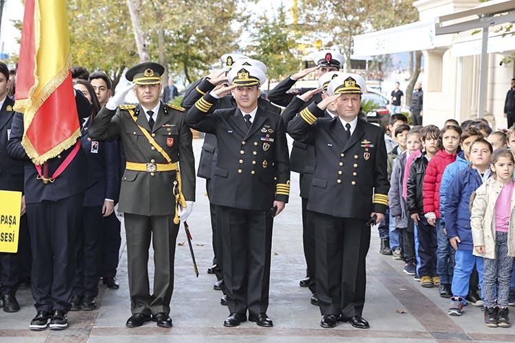 Beykoz, Mustafa Kemal Atatürk'ü saygıyla andı