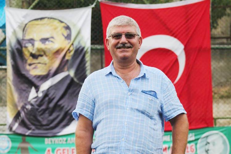 Gümüşsuyuspor Kulüp Başkanı, Dost Beykoz'a konuştu