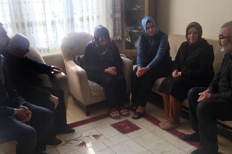 Aile Bakanından, Beykoz'a başsağlığı ziyareti