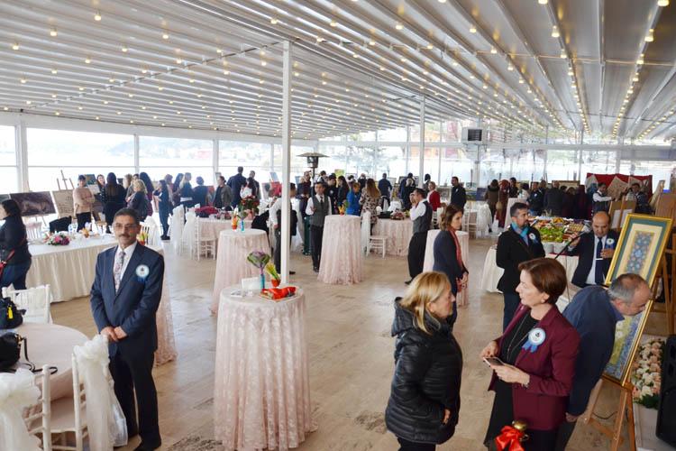 Beykoz'da sanat eserleri sergisi açıldı