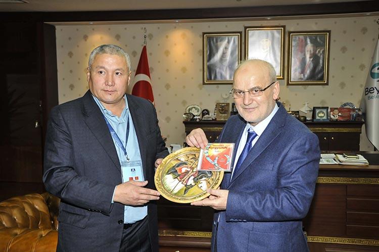 Kırgızistanlı başkanlardan Beykoz'a ziyaret