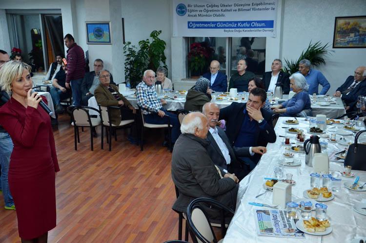 Karadenizliler, Beykoz'da öğretmenleri unutmadı