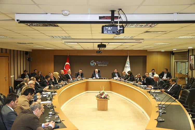 Beykoz Belediye Meclisi 7 teklife onay verdi