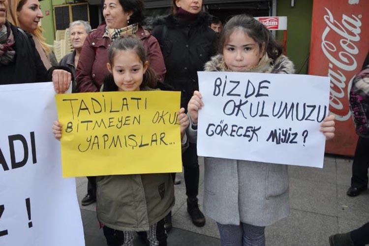 Beykoz'da öğrenci velileri isyan etti!
