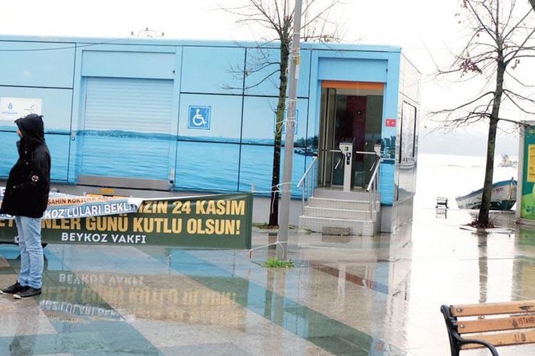 Beykoz'da umumi wc şikayet konusu