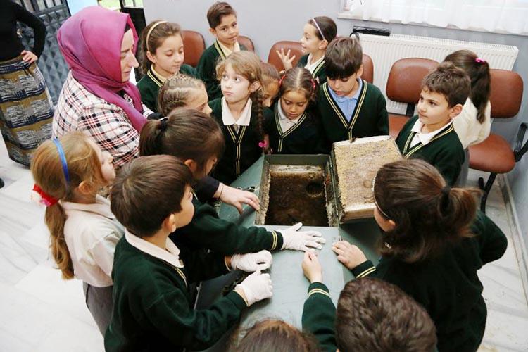 Beykoz'da 58 okulun yeşil mücadelesi