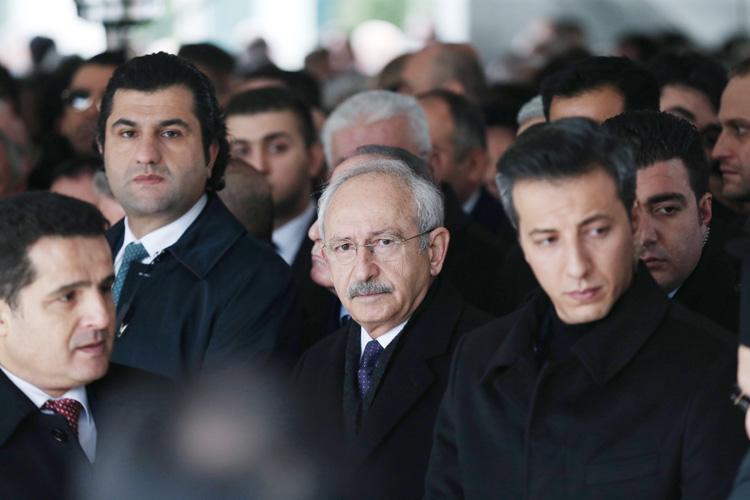 Ana Muhalefet Lideri Beykoz Konakları'na geldi