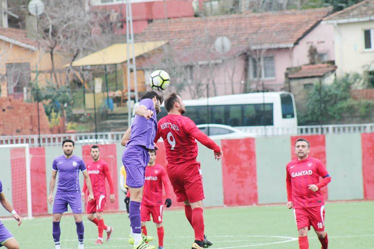 Mesudiyespor'da SAL klasman grubu sevinci