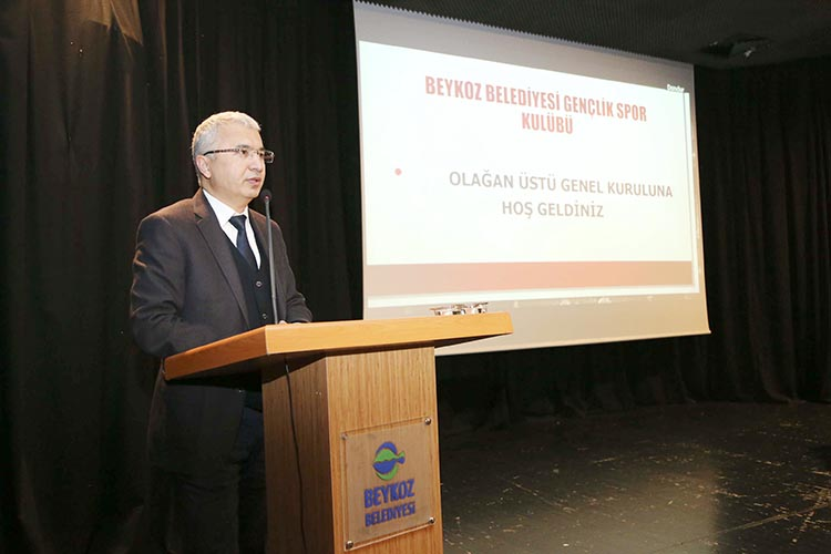 Beykoz Belediyesi Kulüp Başkanı Salim Öztürk oldu