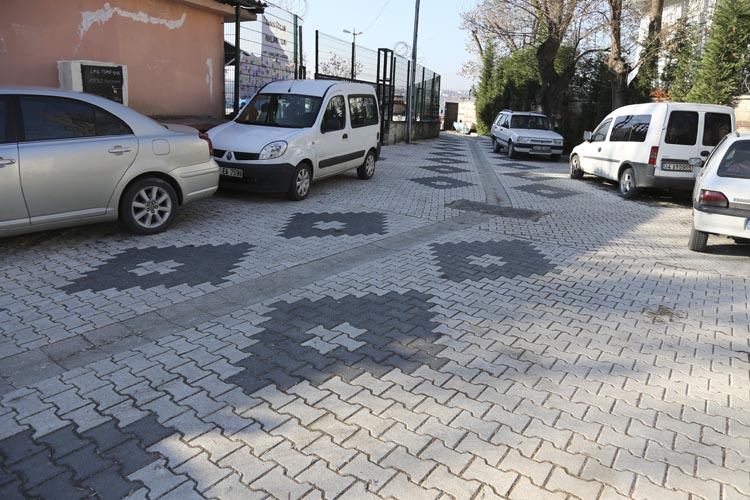 Beykoz'da Çubuklu Cami ve okul çevresi yenileniyor