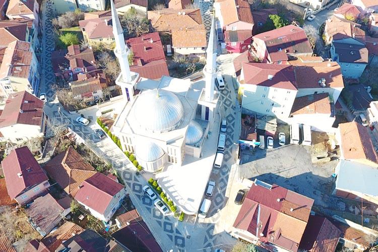 Yenimahalle Şeref Yıldız Camii Sokakları yenilendi