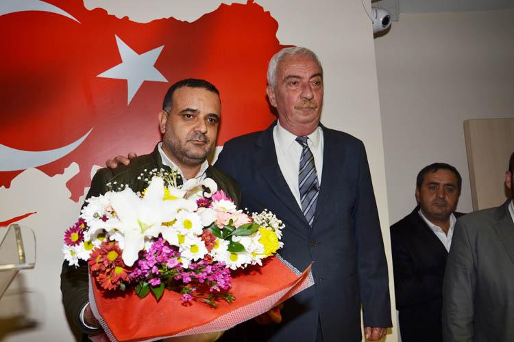 CHP Beykoz'da, Mahir Taştan veda etti