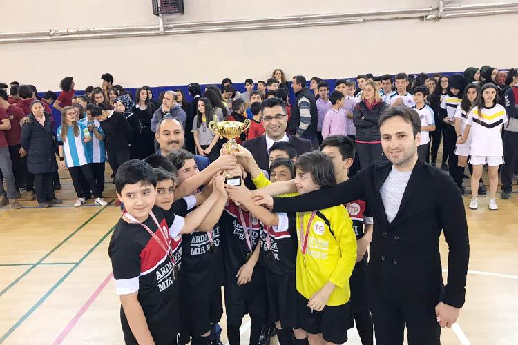 Beykoz FUTSAL Turnuvası'nda dereceye girenler belli oldu