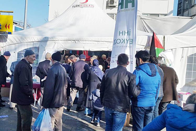 Beykoz'dan Kudüs'e 20 bin lira