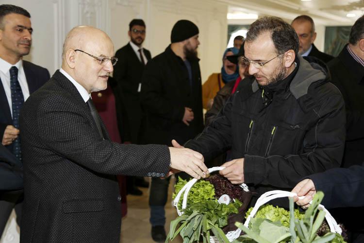 Başkan, Beykoz basınıyla bir araya geldi