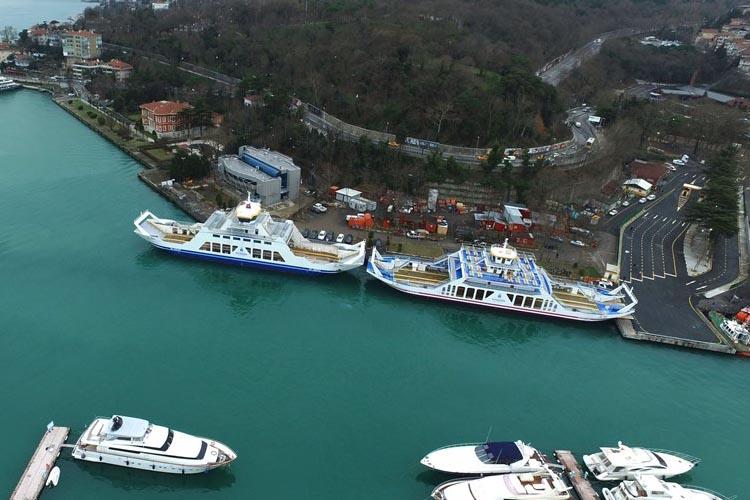 İBB Beykoz için iki gemi kiralıyor