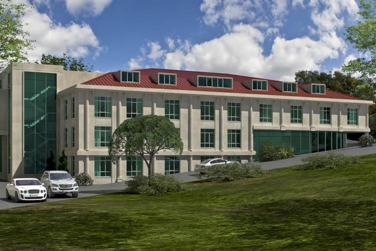 Beykoz'un Meclis binası yükseliyor