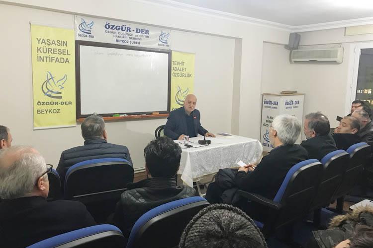 Özgür-Der Beykoz Şubesi, İslami yaşantıya vurgu yaptı