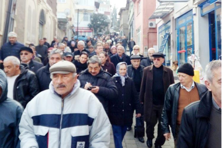 Beykoz'da Çiğdem Mahallesi yine hareketli