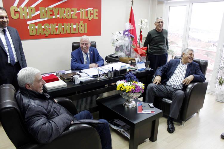 Başkan Genç, CHP Beykoz örgütüne konuk oldu