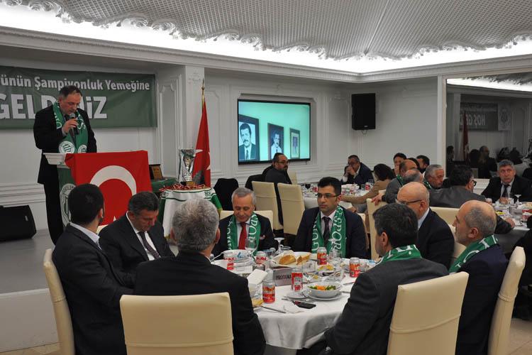 Beykoz, Gümüşsuyuspor'a destek gecesinde buluştu