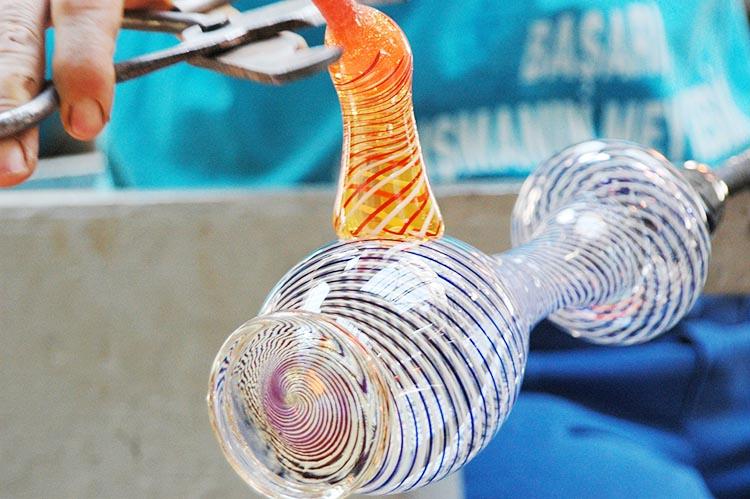 Beykoz cam sanatı üniversite müfredatına giriyor