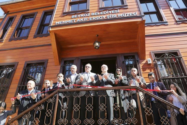 Beykoz'da Mehmet Akif Ersoy Şiir Müzesi açıldı