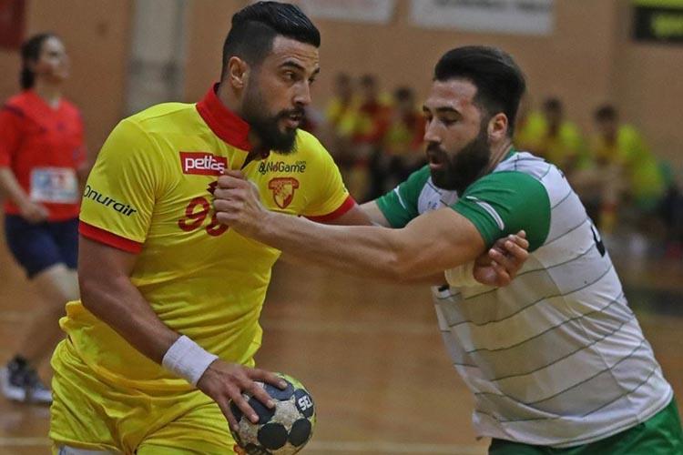 Beykoz Belediyespor İzmir'de kupaya veda etti: 20-37
