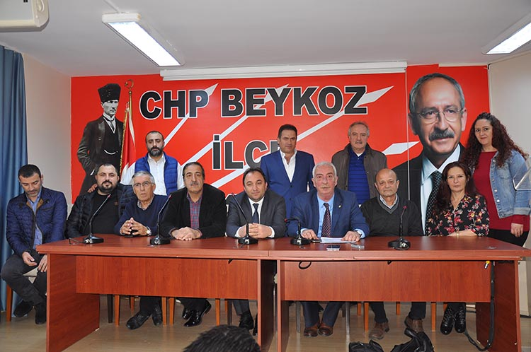 CHP Beykoz'un gündeminde NUN Okulları vardı